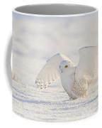 Snowy Owl- Ready For Takeoff Coffee Mug