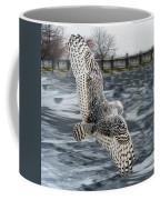 Snowy Owl Wingspan Coffee Mug