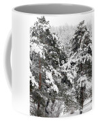 Snowy Pines Coffee Mug