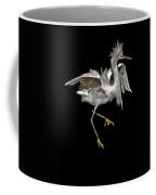 Snowy Pixel Coffee Mug
