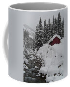 Wyoming Snowy Retreat Coffee Mug