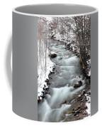 Snowy River At Mt. Hood Coffee Mug