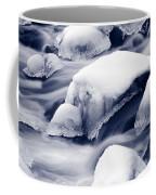 Snowy Rocks Coffee Mug