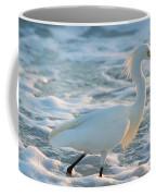 Snowy Siesta Key Sunset Coffee Mug