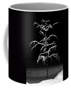 Snowy Sophistication - An Elegant Fledgling Coffee Mug