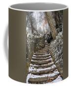 Snowy Steps Coffee Mug