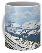 Snowy Terrain Near Top Of Trail Ridge Road In Rocky Mountain Np-co   Coffee Mug