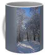 Snowy Trail Coffee Mug