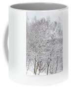 Snowy Trees In Winter Park Coffee Mug
