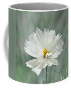 Snowy White Cosmos Coffee Mug