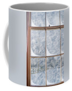 Snowy Window Coffee Mug