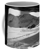 Snowy Window View Coffee Mug