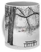 Snowy Winter Country Cottonwood Tree View Bwsc Coffee Mug by James BO  Insogna