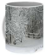 Snowy Winter Coffee Mug