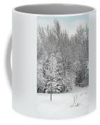 Snowy Woodland Coffee Mug