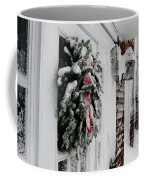 Snowy Wreath  Coffee Mug