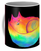 Snuggle Cat Coffee Mug