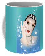 Soap Bubble Woman  Coffee Mug