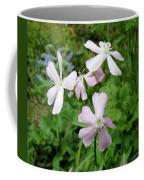 Soapwort Flowers Coffee Mug