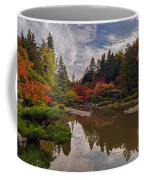 Soaring Autumn Colors In The Japanese Garden Coffee Mug