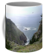 Soaring Over The Cliffs Coffee Mug