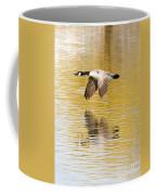 Soaring Over The River Coffee Mug
