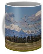 Soaring Skagit Snow Geese Coffee Mug