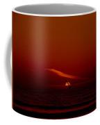 Soaring The Red Sky Coffee Mug