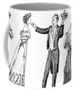Society Hypnotist, 1900 Coffee Mug