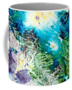 Sodium Thiosulphate Microcrystals Color Abstract Coffee Mug
