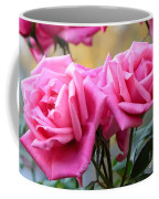Soft Pink Roses Coffee Mug