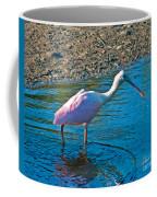 Soft Pink Spoonbill Coffee Mug