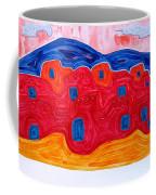 Soft Pueblo Original Painting Coffee Mug
