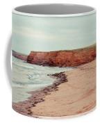 Soft Rain On The Beach Coffee Mug by Edward Fielding
