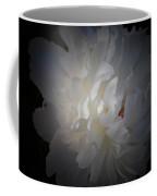 Soft White Peony Coffee Mug
