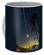 Solar Eclipse Composite, Queensland Coffee Mug