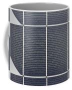 Solar Panel Collector Closeup View Coffee Mug