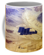 Solar Panels Aerial View Coffee Mug