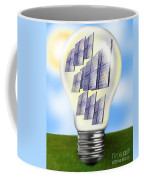 Solar Power Lightbulb Coffee Mug