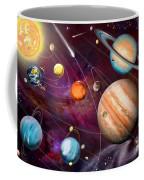 Solar System 2 Coffee Mug