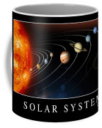 Solar System Poster Coffee Mug by Stocktrek Images