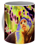 Solarized White-faced Monkey Coffee Mug