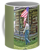 Soldier At Bedford Village Pa Coffee Mug
