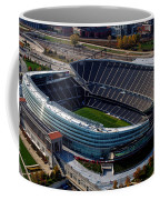 Soldier Field Chicago Sports 06 Coffee Mug by Thomas Woolworth