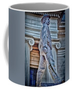 Soldier Statue Hdr Alabama State Capitol Coffee Mug