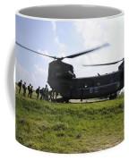 Soldiers Board A Republic Of Korea Air Coffee Mug