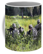 Soldiers Maintain Security At Fort Coffee Mug