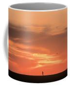 Solitary Jogger Coffee Mug