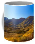 Solider Mountain Shadows Coffee Mug