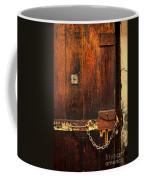 Solitary Confinement Door Coffee Mug